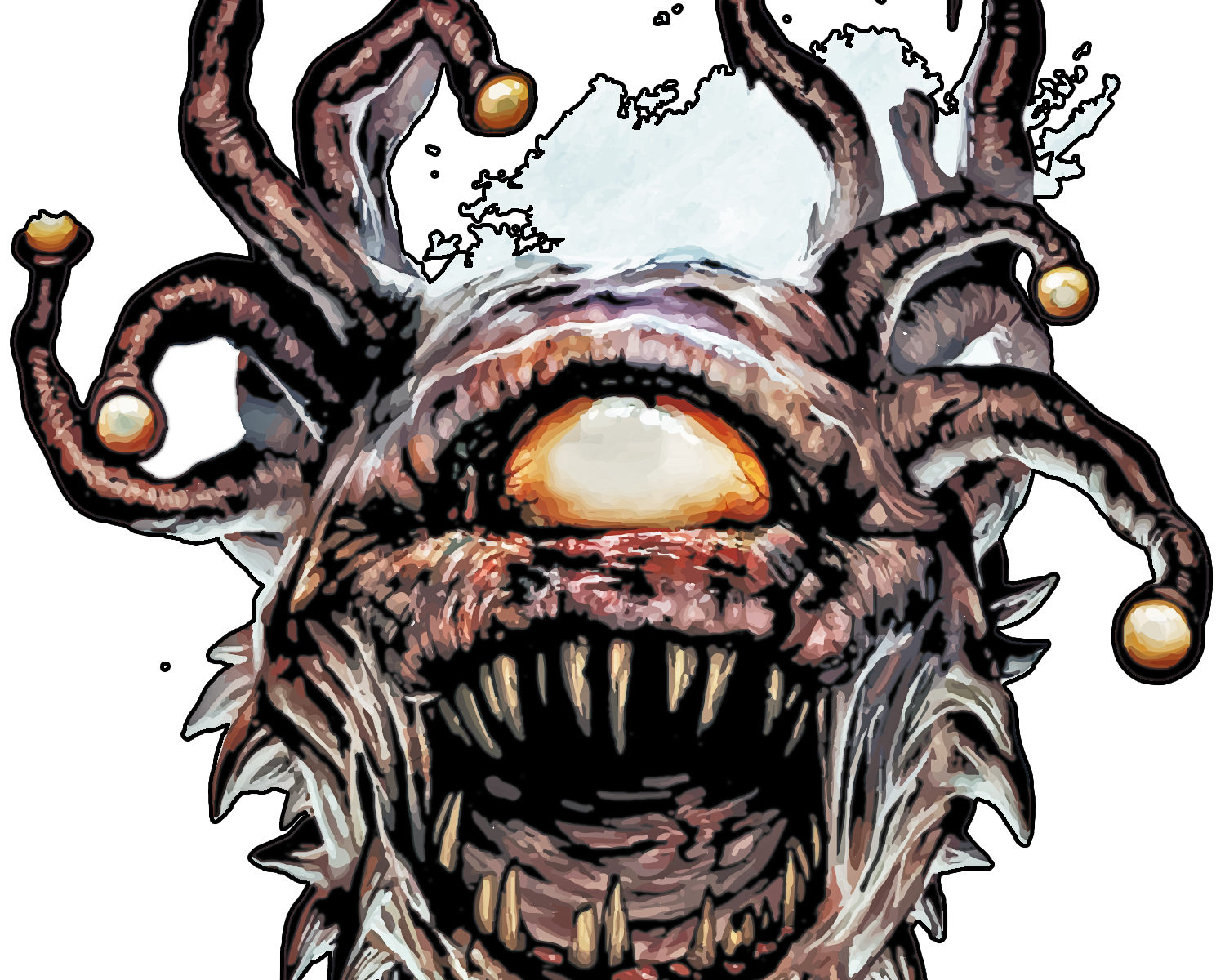 Beholders in Dungeons and Dragons - Old School Role Playing