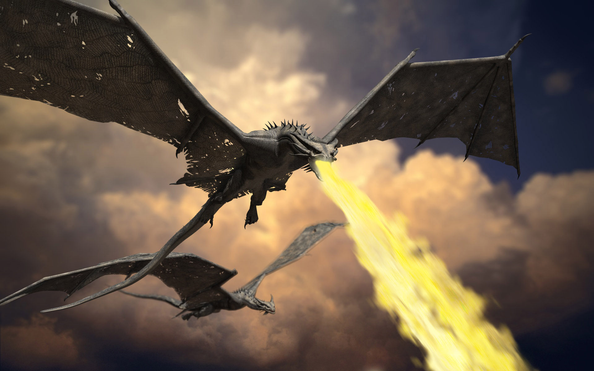 Flying Dragon: Fighting Against Flying Monsters In Dungeons And Dragons