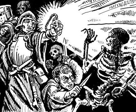 Clerics in Dungeons and Dragons - Old School Role Playing