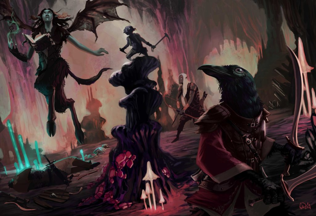 The Underdark in Dungeons and Dragons