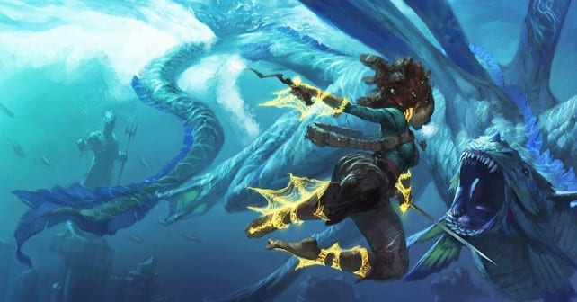 Underwater Adventures In Dungeons And Dragons Old School Role Playing