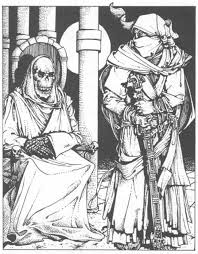 Crypt Thing in Dungeons and Dragons - Old School Role Playing